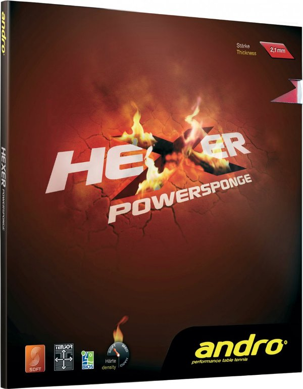 Andro Hexer Powersponge More Sound Control