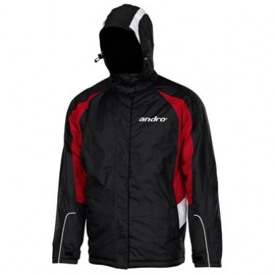 Andro Pax Outdoor Jacket Black Red White