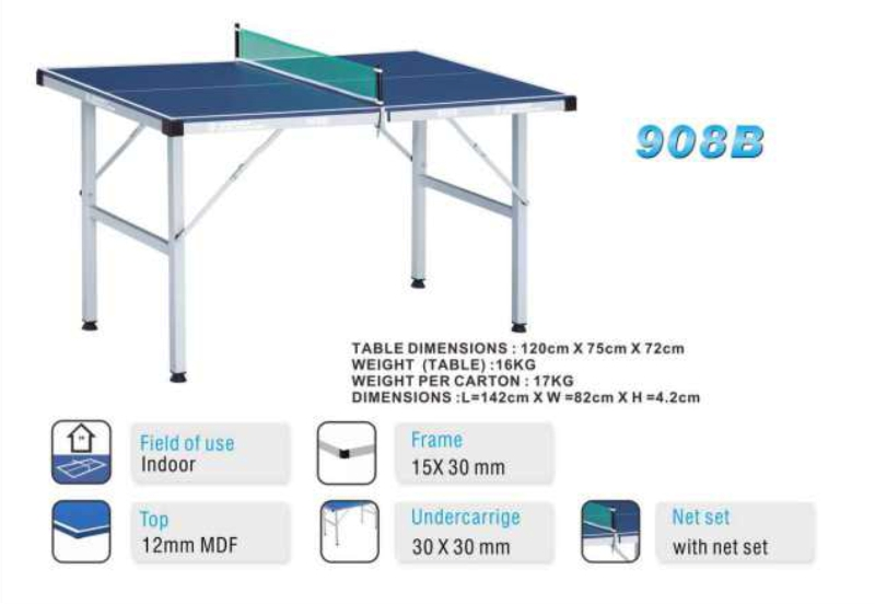 Giant Dragon Mini Table Tennis Table 908B