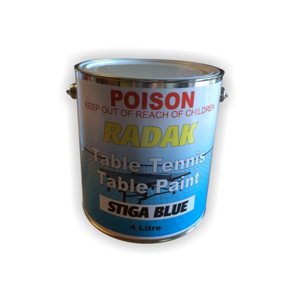 Blue Table Tennis Paint
