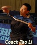 Coach Tao Li.